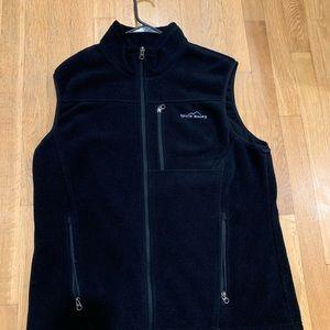 Black Fleece ZIP Up Vest L